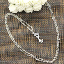 99Cents New Fashion Necklace cheerleader cheer girl 28*10mm Silver Pendants Short Long Women Men Colar Gift Jewelry Choker