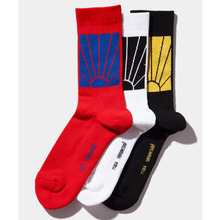 1 pairs/lot Crew Socks Gosha Rubchinskiy Socks For Men And Women Skateboard Hip Hop meias Three Color Cotton Sox Hemp Male Socks
