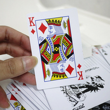 Poker Cards Waterproof Durable PVC Scrub Type Plastic Playing Cards Novelty Poker Card Pokerstar Board Game For Texas Game P5(China)