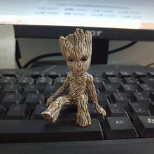 Guardians of the Galaxy 2 Baby Groot Resin Statue Figure Collectible Model Toy 6cm
