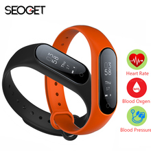 0.87'' OLED Smart watch Blood pressure/Heart rate Monitor fitness bracelet Android IOS smart band wristband Bluetooth smartwatch(China)