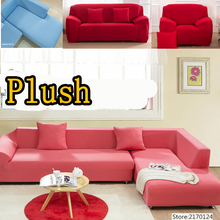 Fabric Elastic Sofa Cover Slipcover Stretch Red Corner 1 2 3 4 Seater Loveseat Sofa Furniture Cover l shaped corner sofa cover
