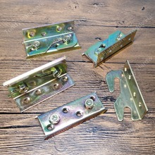 4sets Galvanized Steel Bed Rail Fasteners,Bed hinges,Bed hardware