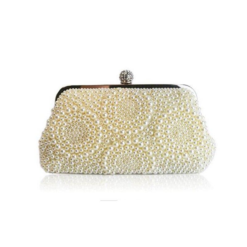 2016 New Beading Women Clutch Bags Crossbody Bags For Women Diamonds Wedding Bags And Evening Bag Small Bridal Handbags<br><br>Aliexpress