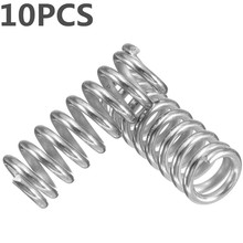 10pcs stainless steel Spring for 3D Printer Extruder Heated Bed For Ultimaker Makerbot Nickel Plating(China)