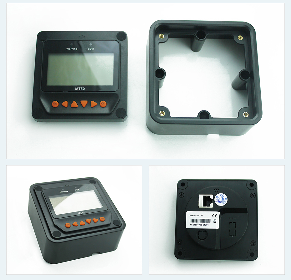 Remote Meter Display MT-50 for EPever EPsolar MPPT Solar Charge Controller Tracer-AN Tracer-BN TRIRON XTRA ViewStar-AU BN Series_05