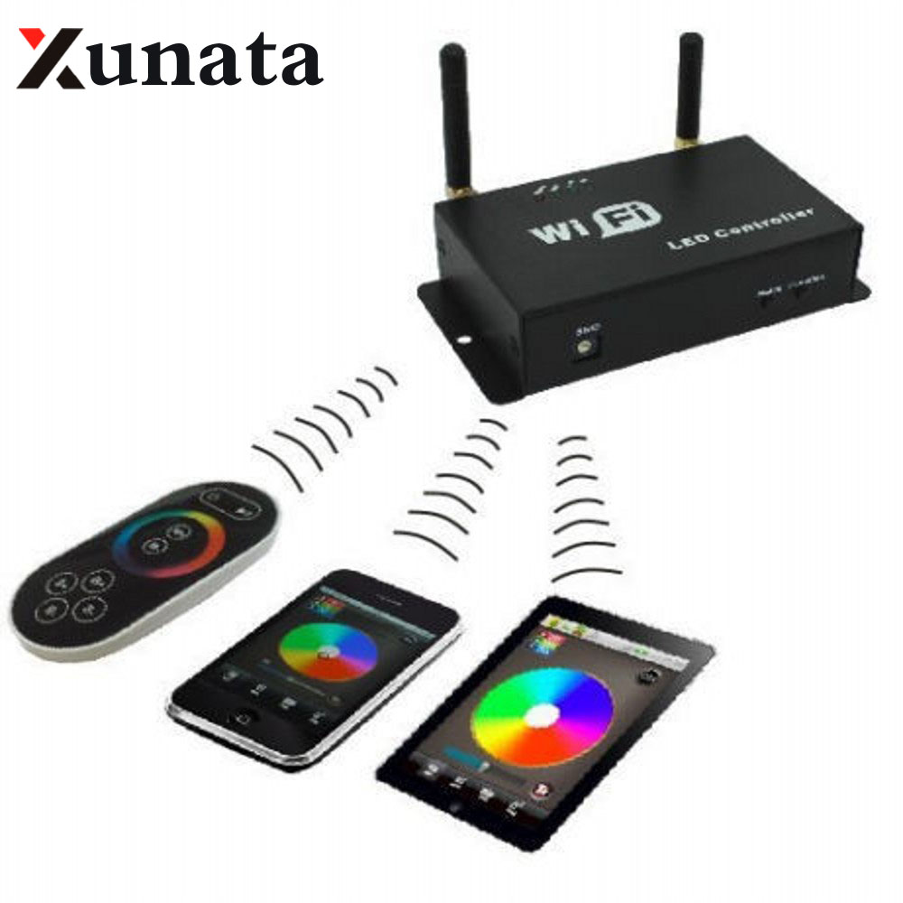 WiFi SPI Controller Android IOS Support WS2811 WS2812B LPD6803 WS2801 LED Pixel  WIFI300<br>