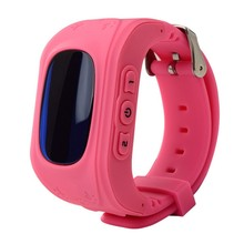 Kids GPS Tracker Watch SOS Emergency GSM Smart Mobile Phone App For iPhone Android Phones