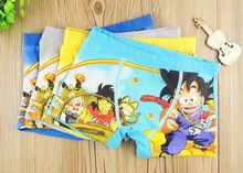 4PC/Lot High Quality Boy Underwear Soft Materials Briefs Children 2-8 Years Old Boy Panties Boxer(China)