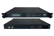 IP QAM Modulator with Multiplexer Scrambler TS IP/multicast gigabit in,4*DVB-C RF out QAM Modulator sc-4154(China)