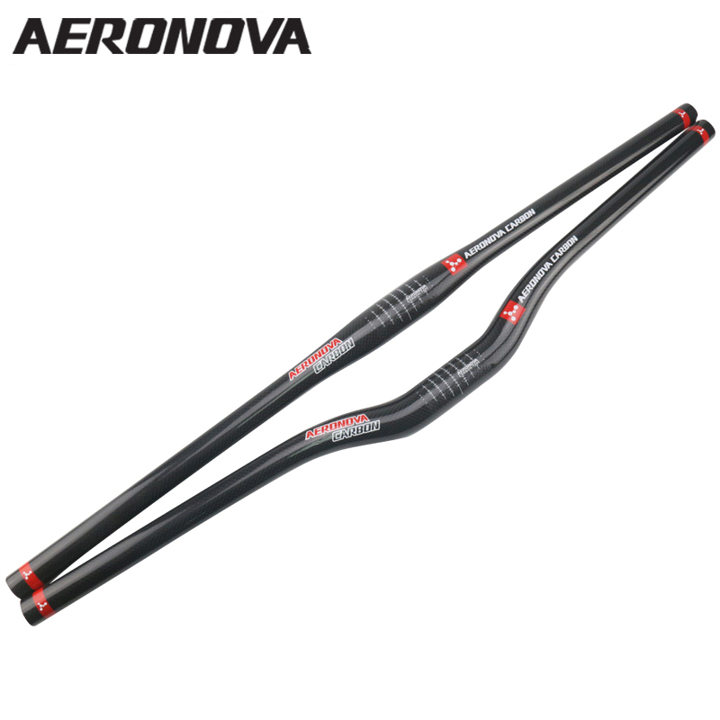 Carbon MTB Bike Handlebar 31.8mm AERONOVA Full Car...