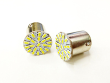 1pcs 1156  SMD 3014 22 LED BA15S P21W Car Auto Tail Side Indicator Lights Parking Lamp DC12V White Bulb