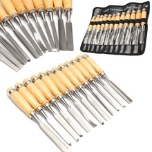 Best Price 12Pcs Wood Carving Hand Chisel Hand Tool Set Woodworking Professional Carving Tools Handmade DIY Crafts Tool Art Sets(China)
