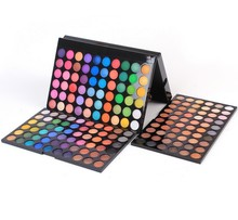 Ladies New Pro 180 Full Colors Neutral Eye Shadow Maquillage Eyeshadow Palette Makeup Cosmetics Set Disk For Women