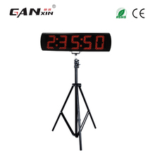 [Ganxin]5'' 5 digits LED countdown clock with Tripod for Semi-outdoor / Outdoor use(China)