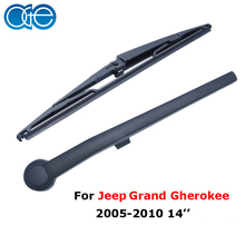 Oge Rear Wiper Arm And Blades For Jeep Grand Cherokee 2005 2006 2007 2008 2009 2010 Windshield Rubber Car Accessories(China)