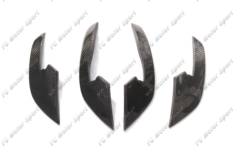 2013-2016 Audi A6 S6 RS6 RS6-Conversion Front Bumper ABT Style Canard CF (3)