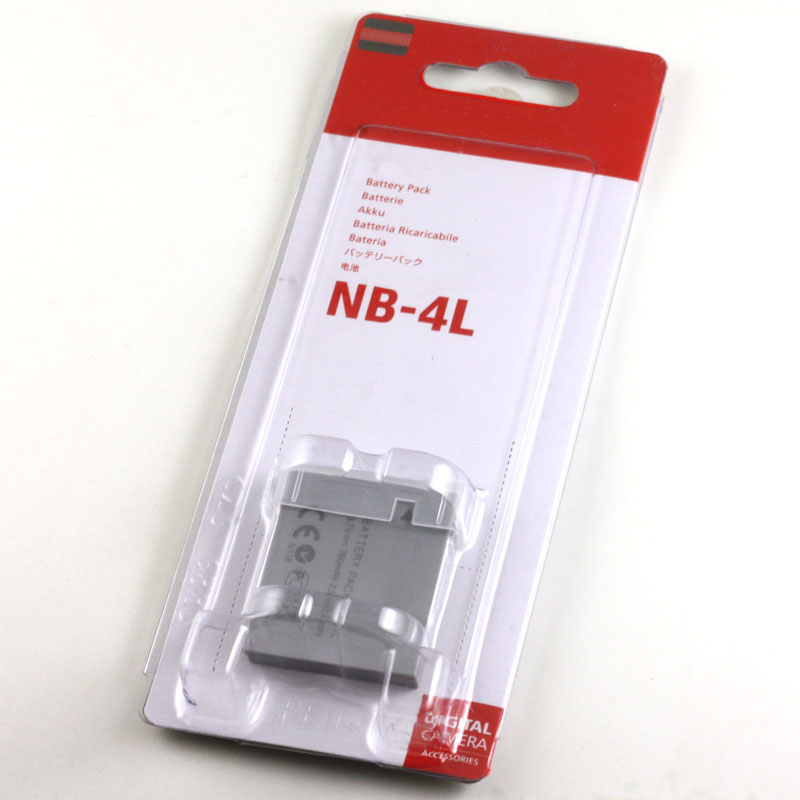NB-4L Battery NB 4L NB4L Batteries For Canon IXUS TX1 SD960 i20 40 50 65 i7 100 110 115 120 130 IS 117 220 225 230 255 HS<br><br>Aliexpress