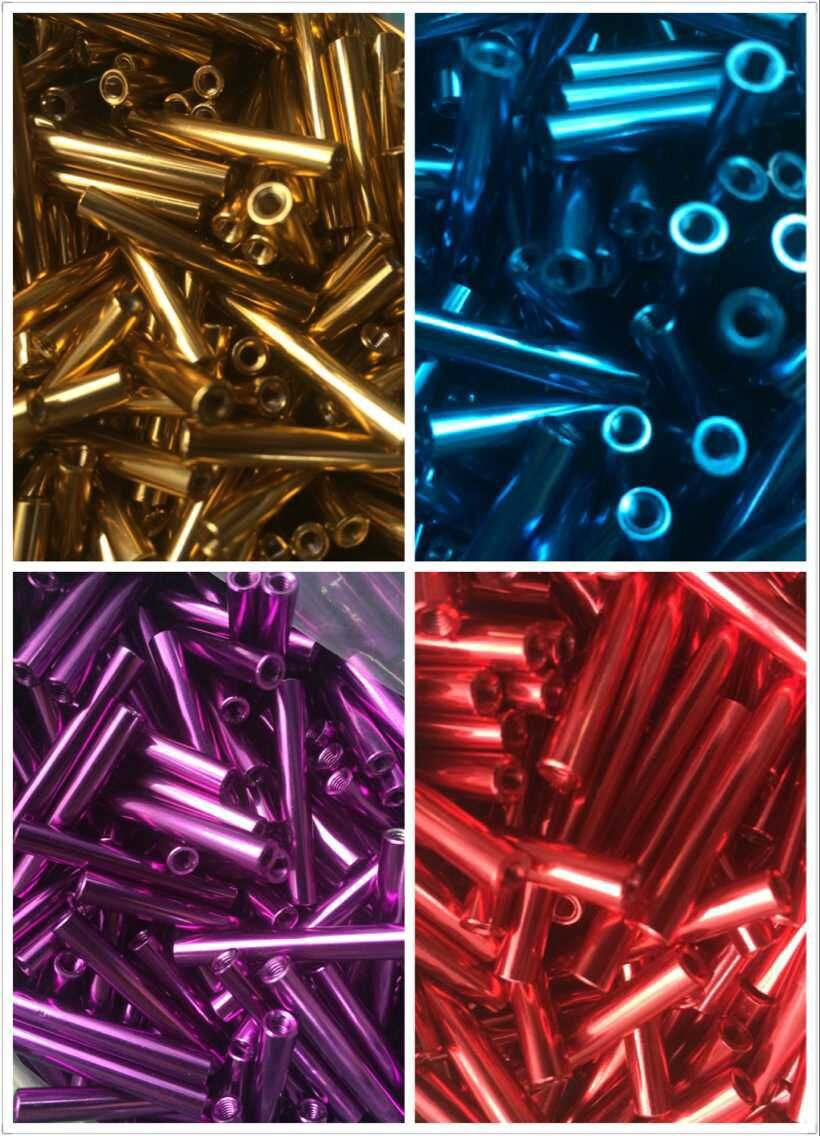 Free Shipping 100pcs/lot M3 5.0x30mm Anodised Aluminum RC Standoff/spacer<br>