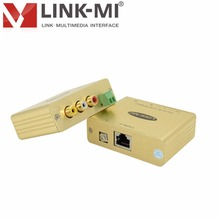 LINK-MI LM-CVHFIRB Composite Video,Stereo Hi-Fi Audio /IR Pass-Thru Balun Extender single Cat5e/6 cable in a point-to-point(China)