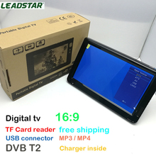 LEADSTAR HD TV 10 Inch Digital And Analog TV Receiver And TF Card And USB Audio And Video Playback Portable DVB-T2 Television