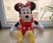 45cm Original Red Minnie Mouse Plush Toy, Baby Gift Kids Doll Wholesale with Free Shipping