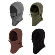 Thermal Fleece  Ski Hat  Bike Wind Stopper Face Mask New Caps Neck Warmer Winter Fleece Motorcycle Neck Helmet Cap