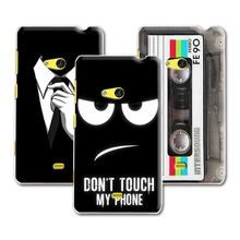 New Arrived Dark Mens Style Design Case For Nokia lumia 625 Case Cover For Nokia 625+ Free Stylus Gift