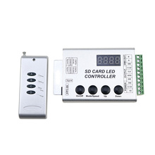 SD Card LED Controller Pixel Led Control Pixel Controller Support DMX512 ws2811 RGB Controller Compatibility Most IC DC5-24V(China)