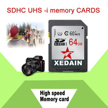 High Quality Durable SD Card Memory SD Card Video Camera Real Full Capacity Xidain Brand 16GB 32GB 64GB Nice Used Memory Card(China)