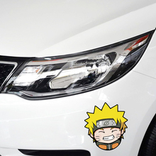 Car-styling Cartoon Naruto Car Fuel Cap Sticker and Decal for Toyota Peugeot 206 307 Ford Focus Renault Bmw Audi Q3 Q5 Vw Skoda(China)