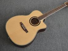 "Top Quality Lake 41"" classic acoustic guitar,AAA Solid Spruce top,2017 Factory Custom Best wood acoustic Guitar,Signature guitar"