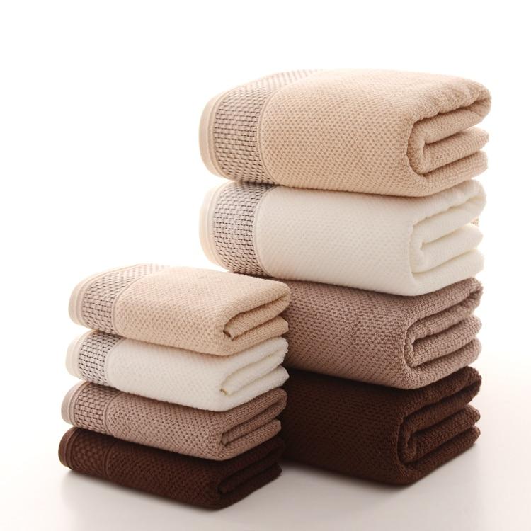 1-3Pcs Magic Compressed Bath Face Travel Cotton Towel Washcloths Hotel 30*60CM