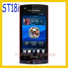 ST18i Original Sony Ericsson Xperia Ray Mobile Phone St18i Red 8MP GSM 3G WIFI GPS Bluetooth Unlocked & Gift(China)