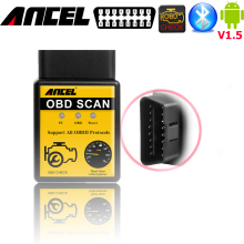 obd2 scanner elm327 for android bluetooth adapter v1.5 Auto Code Reader Mini 327 elm327 25k80 diagnostic scanner tool v2.1