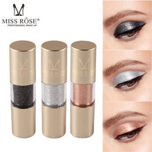 Hot top2019 Makeup Foundation Metallic shiny eyeshadow waterproof sequins liquid makeup cylindrical Glitter Eyes Eyeshadows*0.6(China)