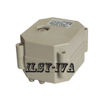 AC/DC 9~24V electric valve actuator,2 or 5 wires control,2 Nm,with position indicator