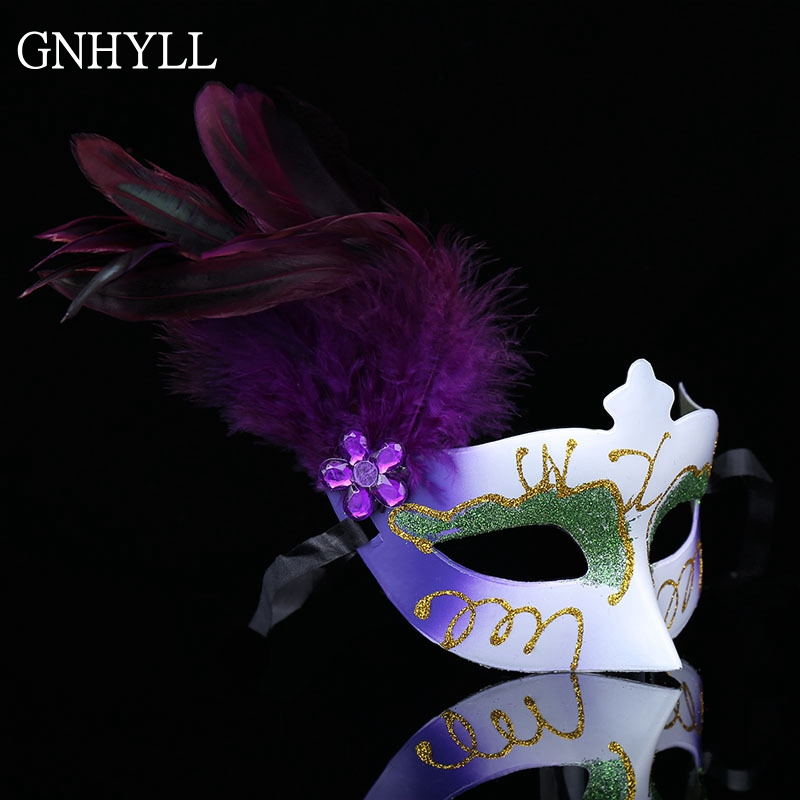 Halloween Skeleton Mask Fancy Dress Skull Costume Masquerade Party Antique Gold
