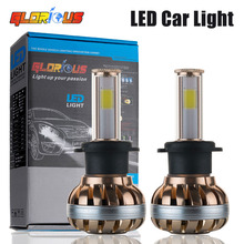 H4 LED headlight 80W 7200LM 6000K for car Automotive Headlight and Fog lamp H1 H3 H7  H8 H9H11 9005 HB3 9006 HB4