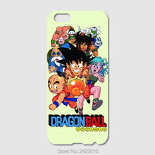 High Quality Cell phone case For iPhone 6 6S 7 Plus SE 5S 5C 4S iPod Touch 6 5 Authentic Dragon Ball Characters Patterned Cover