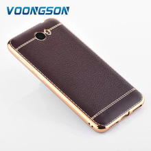 For Huawei Y5 II 2 LTE CUN-U29 Case 5.0inch Business Brown Plating TPU Silicone Soft Back Cover For huawei y5ii Phone Case nh307(China)