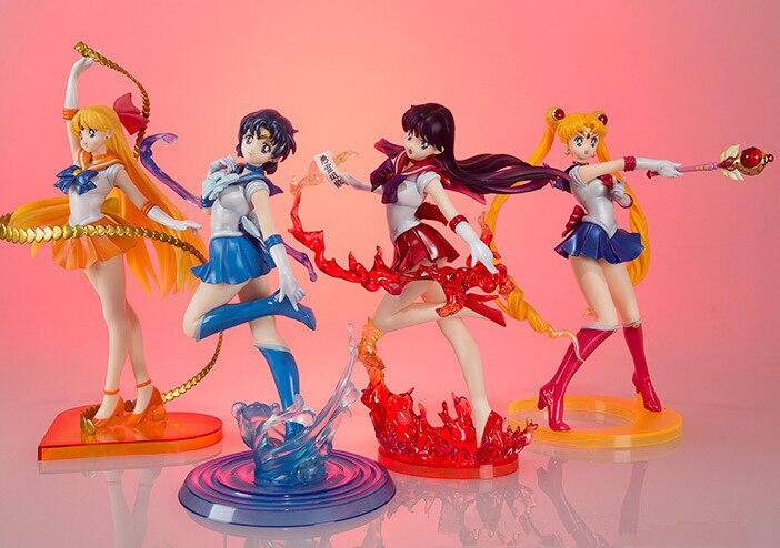 Sailor Moon Figure Figuarts Zero 180mm Sailor Mars Zero Mercury Venus PVC Sailor Moon Zero Action Figure Anime Sailor Moon Toys<br><br>Aliexpress