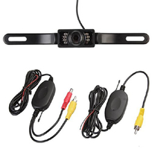 Marsnaska 2016 NEW SALE Night Vision 7 LED Car Reverse Camera and Wireless Transmitter Receiver Kit(China)