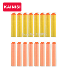 40 pcs foam bullets nerf generic air soft paintball sucker head arme Soft Bullet Blasters Refill Clip Darts For Blaster toy gun(China)