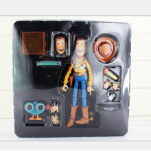 Toy Story Woody Series NO. 010 Sci-Fi Revoltech Special PVC Action Figure Collectible Toy 16cm