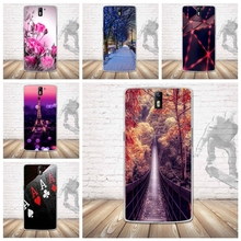 Luxury 3D Relief Painted Moblie Phone Case for Oneplus One Cases Back Soft Cover Shell for One plus One 1+1 Silicon Cover Bag
