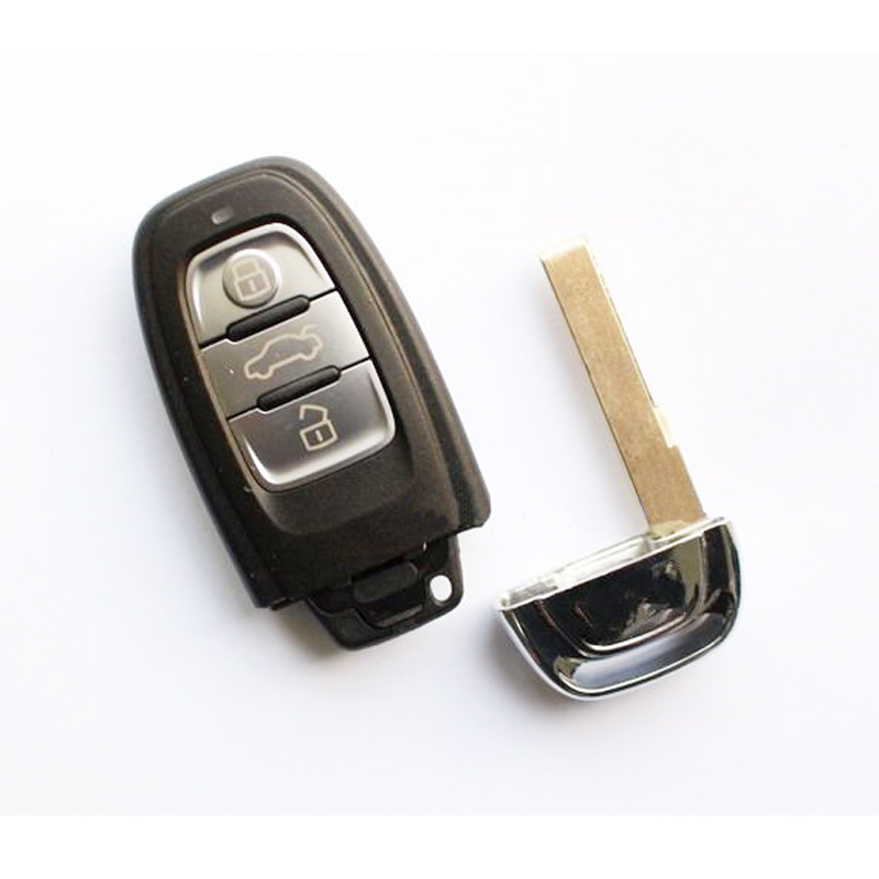 3 Buttons Remote Key For Audi A4L, Q5 Smart 315/433/868 MHZ, Model: 8T0 959 754C (But Cover Printed 8T0 959 754J/4D0 959 754J)(China (Mainland))
