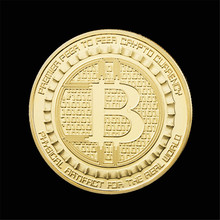 Buy 1pc Gold/Sliver Plated Bitcoin Coins Collectible BTC Art Collection Souvenir Physical Gift Non-currency Copy Coins Collections for $1.26 in AliExpress store