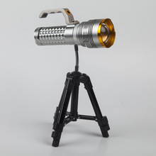 2016 new zoomable T6 led fishing light four light source flashlight torch light  Multi-function fishing gear
