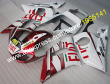 Hot Sales,YZFR6 cowling For Yamaha fairings kit YZF R6 98 99 00 01 02 YZF-R6 body46 1998 1999 2000 2001 2002 (Injection molding)